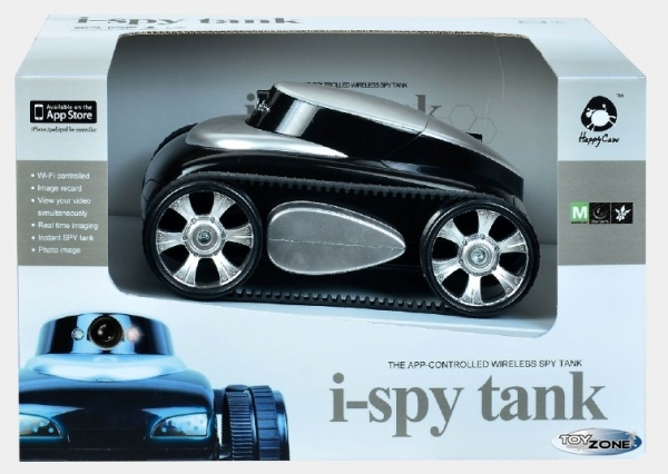 rc panzer mit kamera ber wlan iphone ispy tank auto ebay. Black Bedroom Furniture Sets. Home Design Ideas