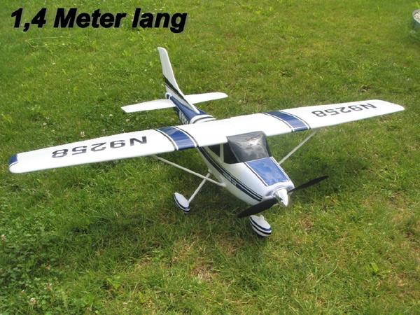 Rc Flugzeug Cessna 1410 Mm Inkl Brushlessn Flieger Motor