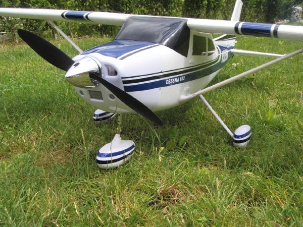 Rc Flugzeug Cessna 1410 Mm Inkl Brushless Motor Servos