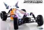 RC Buggy X-FREAK XSTR HSP Auto 4WD 1:10 2,4 GHZ