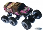 RC Auto Rock Crawler 6 x 6 ROCK MONSTER 2,4GHz 6 WD Climbing Auto 1: 8 Komplettset