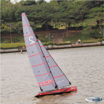 RC Segelboot Segelschiff Focus V2 Racing Hochleistungs Segelyacht 2046 mm RTR 2,4 Ghz Regattayacht