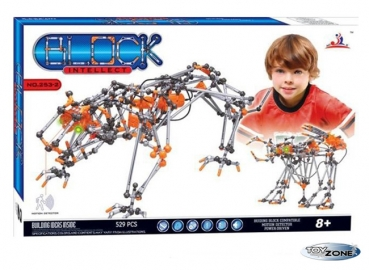 Stecksytem Building Block Intellect Tiger 529 Teile Motorik Ganz neu 2012