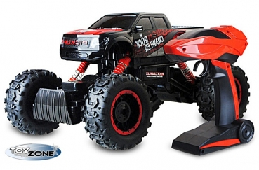 RC Auto Rock Crawler RC Monstertruck rot 2,4GHz 4 WD Climbing Auto 1:14 Komplettset