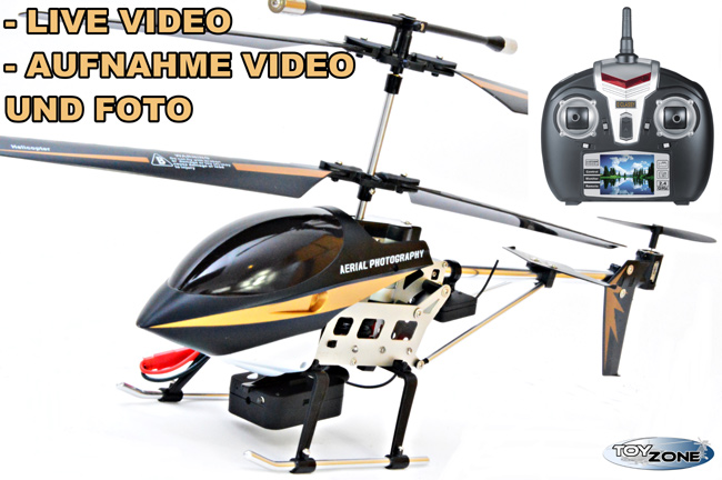 Alle Ersatzteile Rc Hubschrauber Helikopter lt 711 Hawkspy Kamera