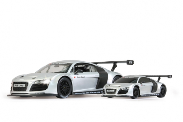 rc auto audi r8 lms 1 14 jamara silber 40mhz. Black Bedroom Furniture Sets. Home Design Ideas