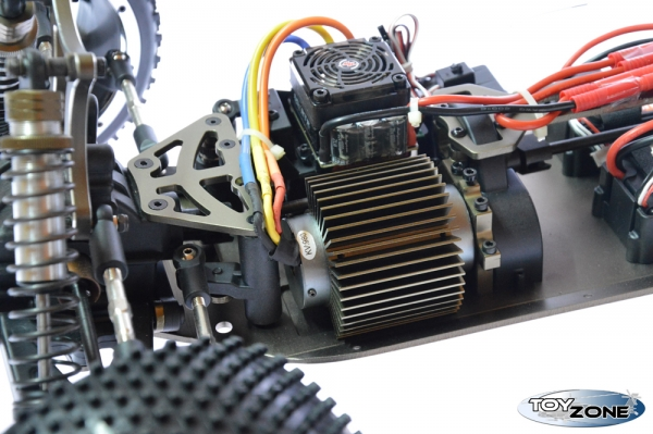 RC Auto 4WD Buggy HSP 1:5 Brushless 2,4 GHz 2x Lipo Akku RTR