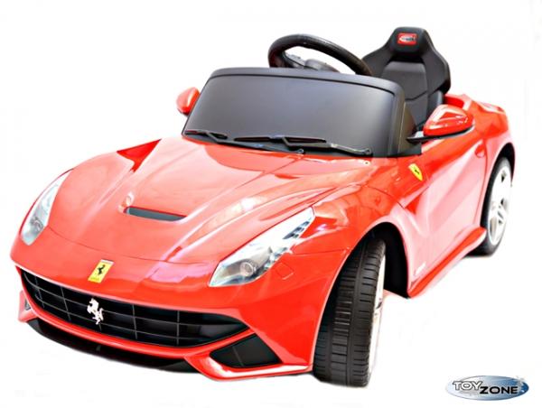 Kinderfahrzeug Kinder Elektro Auto E-Motor Ferrari F12 Berlinetta RC Steuerung Kinderfahrzeuge