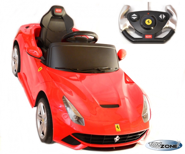 kinderfahrzeug kinder elektro auto e motor ferrari f12. Black Bedroom Furniture Sets. Home Design Ideas