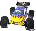 RC OFFROAD TRUGGY BRUSHLESS 4WD 2,4GHZ 11,1V Lipo 80A Regler Top Version RTR