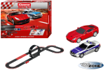 Carrera DIGITAL 143 Hight Speed Rennbahn Slotcar